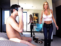 Spy Fam – Stepmom Plays With Gamer Stepson's Joystick